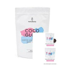 HelloBody Coco Glow Body Scrub (200g) – gommage végan contre la peau sèc... - $34.00