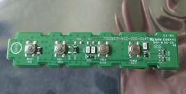 Vizio 715G9317-K02-000-004T Control Button Board for D65-F1 D50-F1 D43-F1 - $5.50