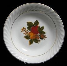 Wedgwood English Harvest Sauce Bowl Fruit Mint Vintage 1940s Dessert Bowl - $8.00