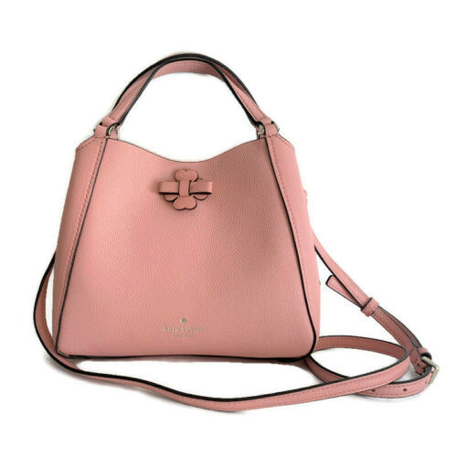 Kate Spade Talia Small Triple Compartment Leather Crossbody ~ Peachy Rose Bag