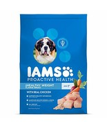 Iams Proactive Health Large Breed Adult Healthy Weight Dry Dog Food Chic... - $36.18