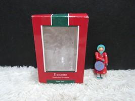 1989 Daughter, Hallmark Keepsake Christmas Tree Ornament - $7.49