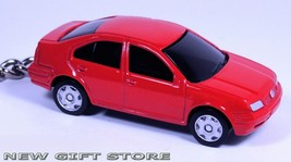 KEY CHAIN RED & BLACK TINTED WINDOWS VW JETTA/BORA VOLKSWAGEN BRAND NEW ... - $29.98