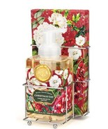 MICHEL DESIGN WORKS Christmas Day Foaming Shea Butter Hand Soap Napkin Set - $21.78