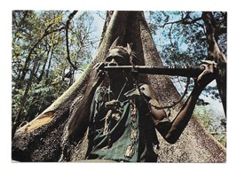 85 c africa horn player silk cotton tree thumb200