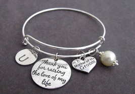 Thank You for raising the Man of my Dreams,Mother of Groom Wedding gift,... - $18.00