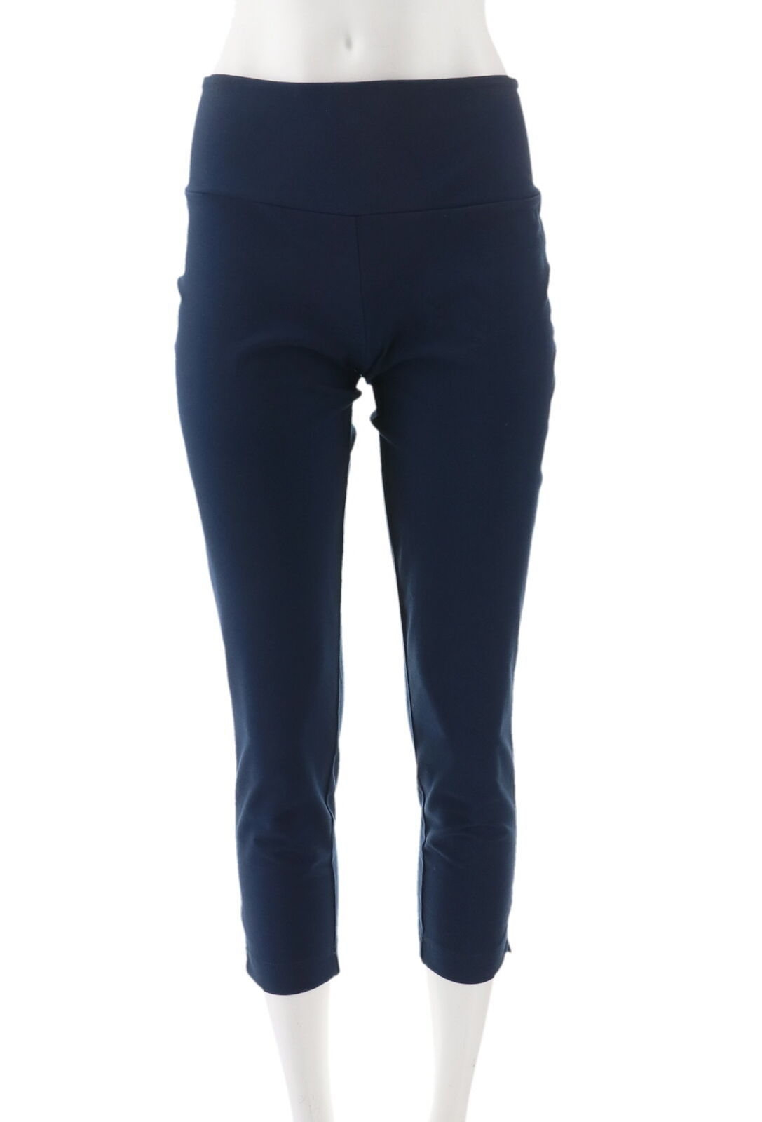 Wicked Women Control Crop Pants Alabaster 1X NEW A307763