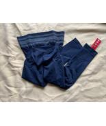 Sankom Women's Posture Correction Yoga Pants, Blue, XXL - $100.00
