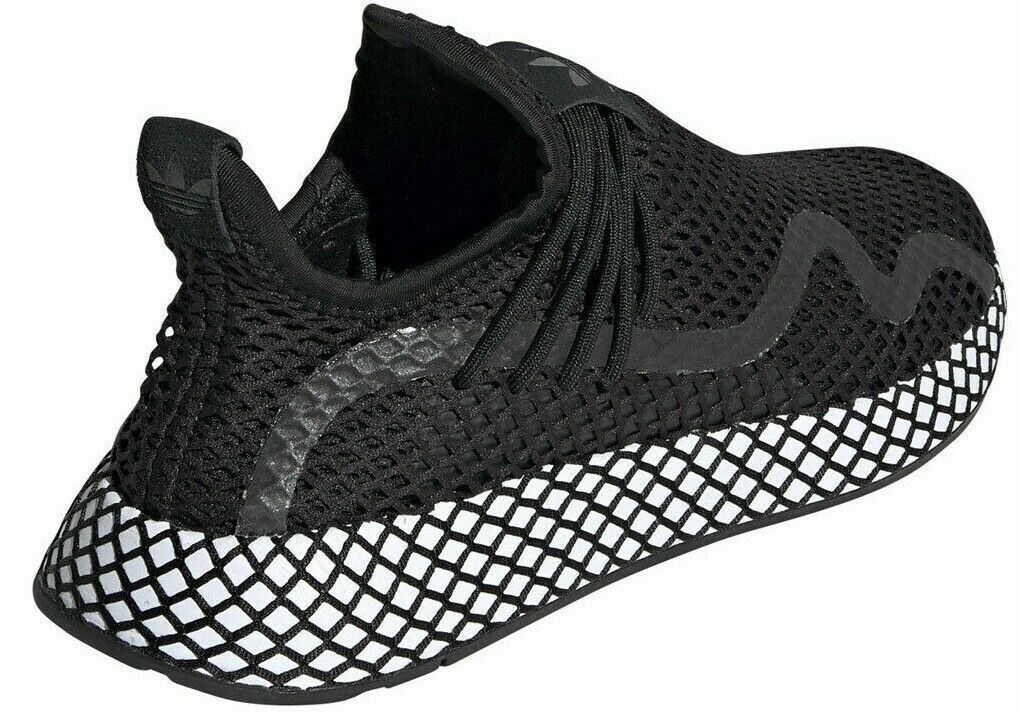 ADIDAS ORIGINALS DEERUPT S BLACK/WHITE SIZE 10 NEW FAST SHIPPING (BD7879)  image 6