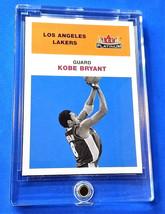 2001-02 Fleer Platinum Kobe Bryant '61 Retro Style Los Angeles Lakers + New case - $11.45