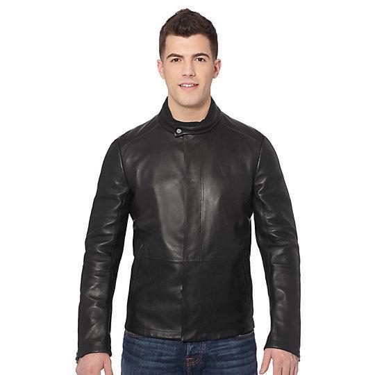 New Men's Genuine Lambskin Leather Jacket  Slim fit Biker Motorcycle jacket-G28
