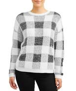 Time And Tru Women's Eyelash Pullover Sweater XX-LARGE (20) Buffalo Plaid - $27.71