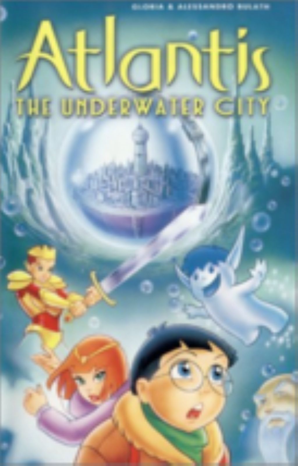 Alantis , The Underwater City Vhs