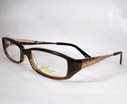 Apple Bottoms Eyeglasses AB 745 Brown Fade 1 Woman Metal plastic optical - $59.39