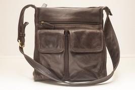 Fossil Handbag Brown Leather 75082 - $32.00