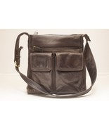Fossil Handbag Brown Leather 75082 - $32.00