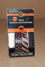 """Halloween Crafting Tape 3/8"""" Wide  Rolls You Choose Type Recollections 1... - $2.39"""