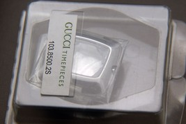 NIB Gucci  Replacement Case Set - Case, Back, Insert and New Crystal - 8500 L SS - $99.95