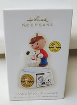 Hallmark Peanuts 60th Anniversary 2009 Christmas Ornament - $21.73