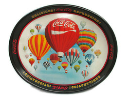 Coca-Cola 7th Annual Collectors Convention Commemorative Tray Oval Exhil... - $14.85