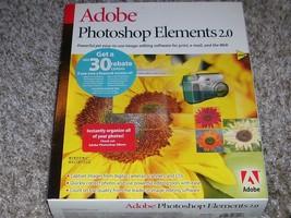 Adobe Photoshop Elements 2.0 Software Program - $45.00