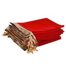 KIPETTO 25Pcs Soft Velvet Pouches with Drawstrings for Jewelry Wedding C... - $19.58