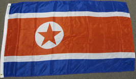 3X5 NORTH KOREA FLAG NORTHERN KOREAN BANNER NEW F719 - $6.89