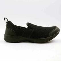 Vionic Womens Sky Roza Walking Slip On Sneakers Shoes Black Low Top 5 M New - $53.45