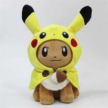 Eevee Pikachu Pokemon Plush Toy Video Game Plush Nintendo Plush Soft Plush Video - $97.20