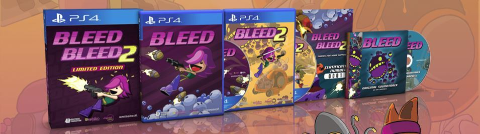 Primary image for Bleed + Bleed 2 Limited Edition PS4 Sony Playstation 4 + Soundtrack Region Free