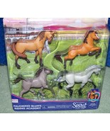 Spirit Riding Free Riding Academy Horse Figure 4-Pack New - $16.50