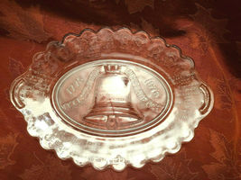 200 Years Ago Declaration Independence Pressed Glass Platter - Anchor Hocking image 4