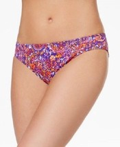 NEW Ralph Lauren Carnivale Paisley Purple Hipster Bikini Swim Bottom size 8 - $11.87