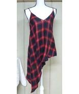 Material Girl Junior's Asymmetric Hemline Printed Cami Top, Salsa Combo,... - $14.11