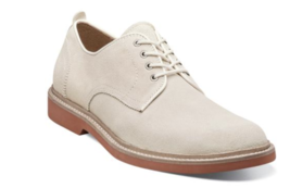 Florsheim Mens Shoes Bucktown Plain Toe Oxford White 15089-100 - €100,68 EUR