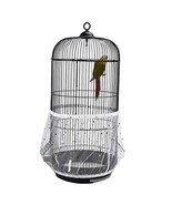 QBLEEV Bird Cage Seed Catcher Mesh Birdcage Seeds Skirt Guard Net Cover ... - $15.99
