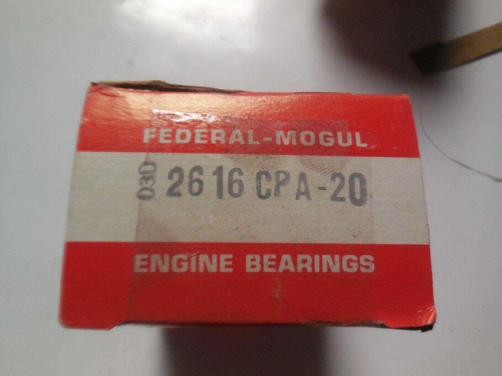 Federal Mogul Engine Bearings 2616 CPA-20 New