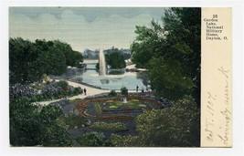 Garden Lake National Military Home UDB Postcard Dayton Ohio 1907 - $17.82