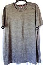 FILA MENS Fit T-Shirt Activewear Tee Shirt Mens grey 2XL XXL - ₨1,310.03 INR