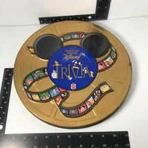 Wonderful World Of Disney Trivia Game Collector Tin Board Game ~ Missing Pieces - $9.50