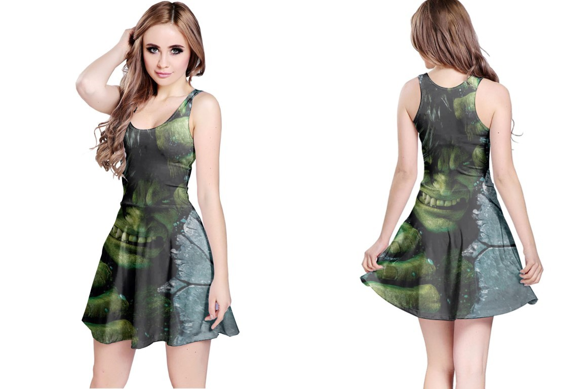 Primary image for Reversible Dress hulk marvel comic