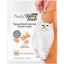 Purina Fancy Feast Purely Natural Hand-Selected Chicken Cat Treats 1.06 ... - $8.90