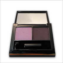 Elizabeth Arden Color Intrigue Eyeshadow Duo - Black Currant, Blue Smoke.. - $17.86