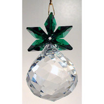 Clear Crystal Pineapple Ornament image 3