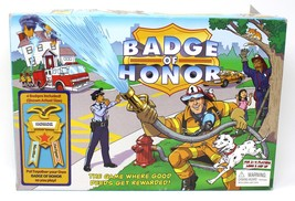 2003 BADGE OF HONOR game by Pressman - Good Deeds game with badges -COMP... - $9.48