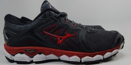 Mizuno Wave Sky Running Shoes Men's Size US 9.5 M (D) EU 42.5 Gray Red