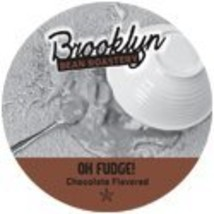Brooklyn Beans Oh Fudge Chocolate Flavored Coffee Single Serve Cup -  24... - $21.06