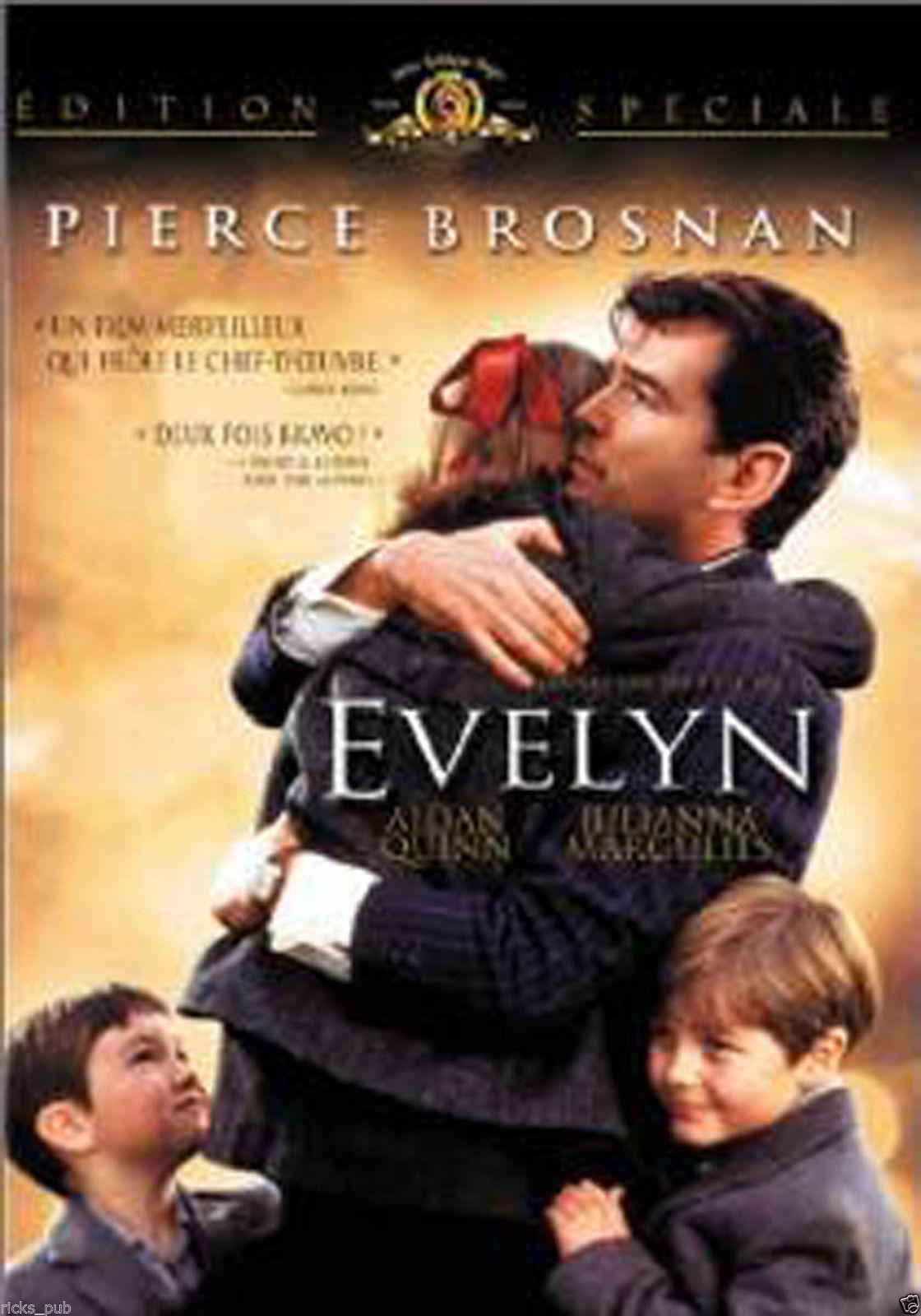 Evelyn (Doyle) R1 Widescreen DVD movie in 1950s Dublin Ireland w Pierce Brosnan