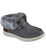 Womens Skechers Bobs Skipper Cotton Tails Bootie - Gray [113446/GRY] - $58.99