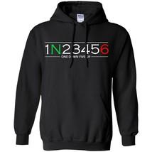 Men Hoodie New 1 N 2 3 4 5 6 One Down Five Up Motorcycle Motorbike Gear ... - $39.55